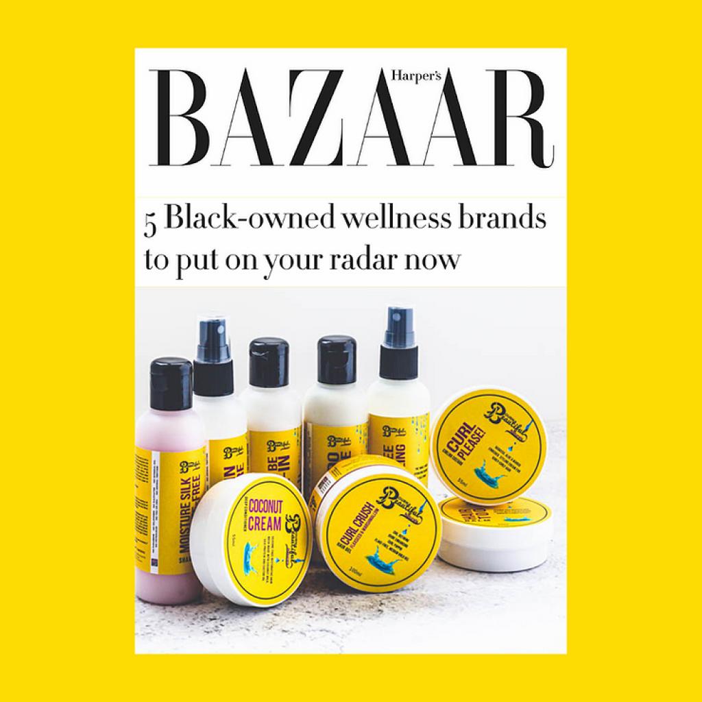 We're One of Harper's Bazaar's 5 Black-Owned Wellness to Put on Your Radar