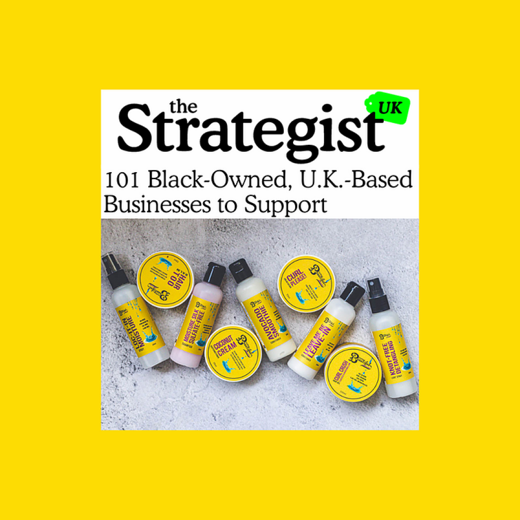 We're on the Strategist's List of 101 UK Black-owned Businesses to Support