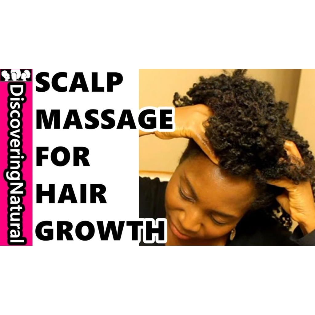 BBN Tip #8: Massage your scalp to support hair growth and sleep